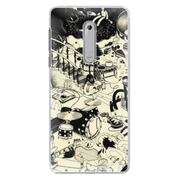 Plastové pouzdro iSaprio - Underground - Nokia 5