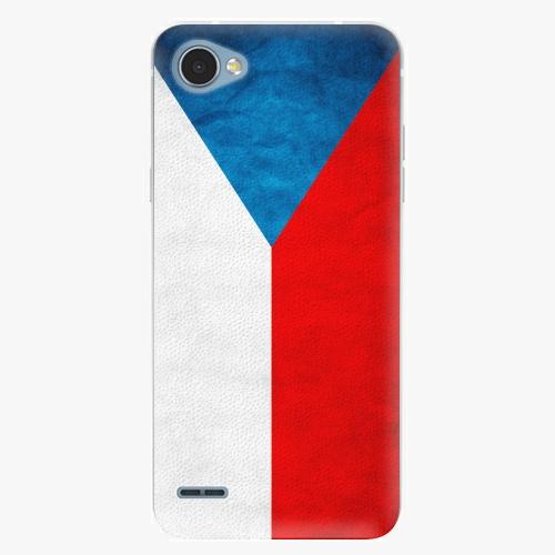 Plastový kryt iSaprio - Czech Flag - LG Q6