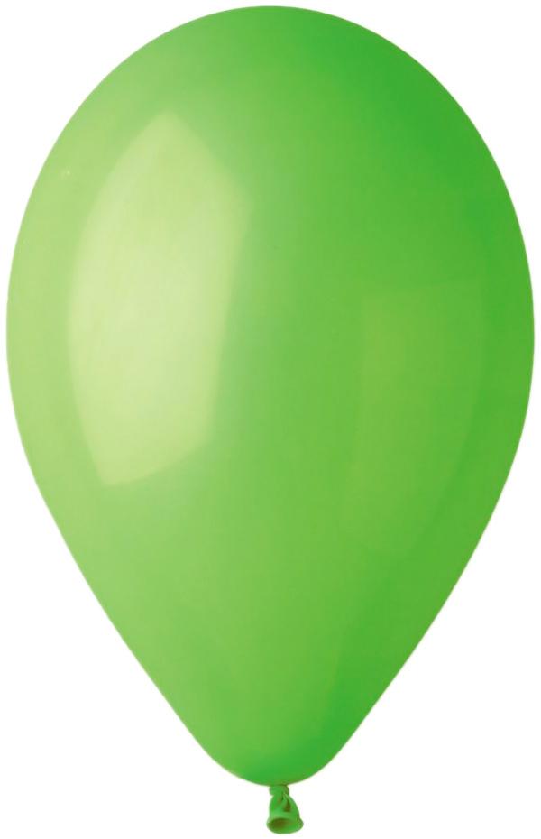 GEMAR Balónek nafukovací kulatý 28/90cm zelený pastelový G90-12