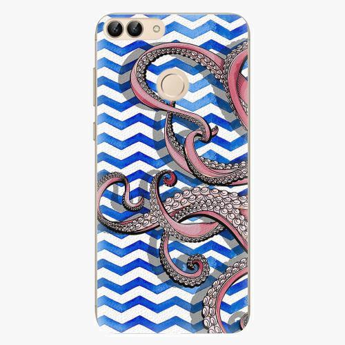Silikonové pouzdro iSaprio - Octopus - Huawei P Smart