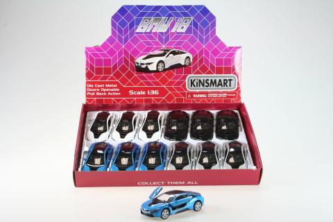 Kinsmart BMW i8 - 12/bal