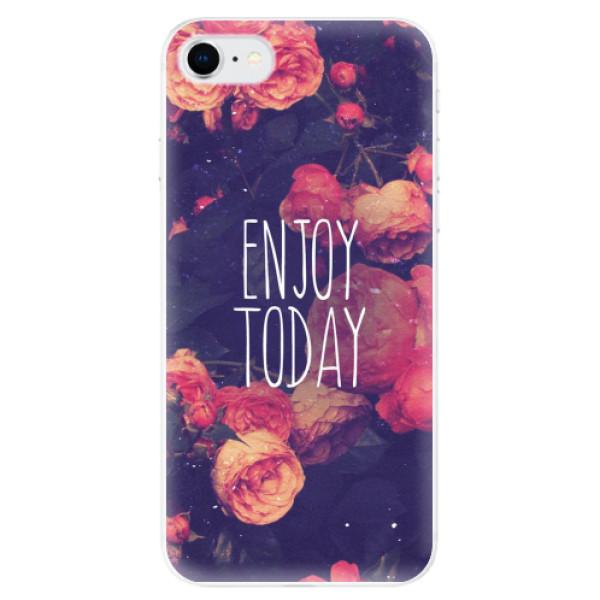 Odolné silikonové pouzdro iSaprio - Enjoy Today - iPhone SE 2020