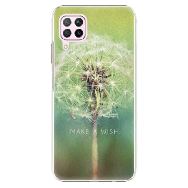 Plastové pouzdro iSaprio - Wish - Huawei P40 Lite