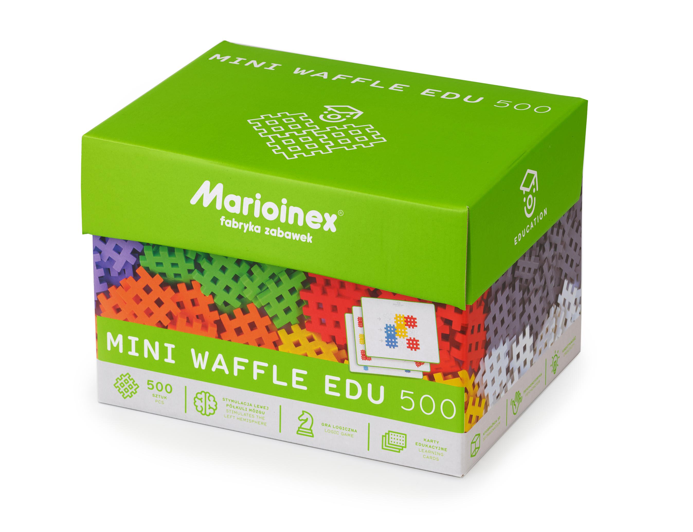 Marioinex MINI WAFLE – 500 ks Vzdělávací