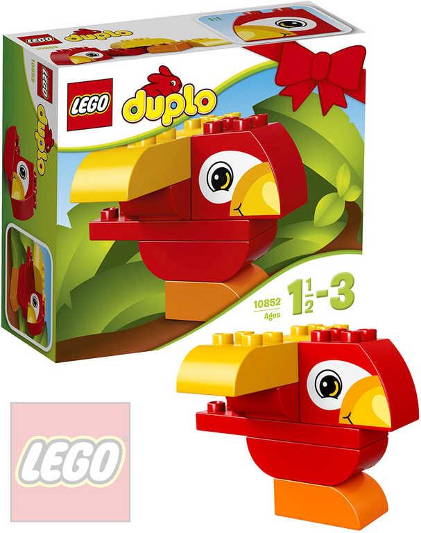 LEGO DUPLO Můj první papoušek 10852 STAVEBNICE