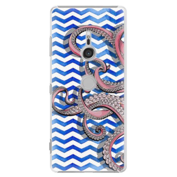 Plastové pouzdro iSaprio - Octopus - Sony Xperia XZ3