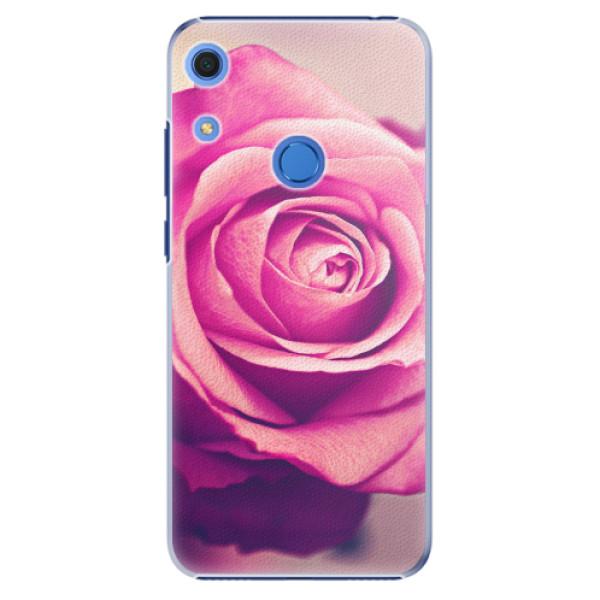 Plastové pouzdro iSaprio - Pink Rose - Huawei Y6s