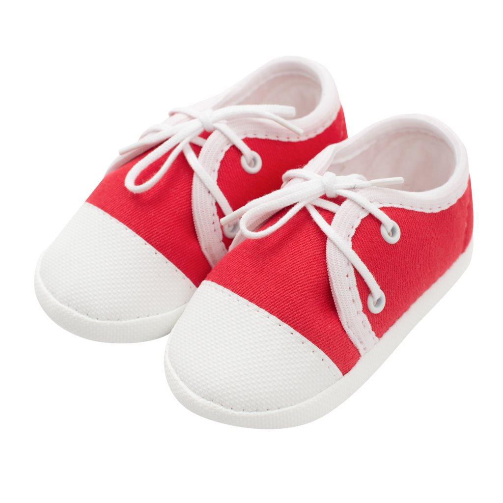 Kojenecké capáčky tenisky New Baby červené