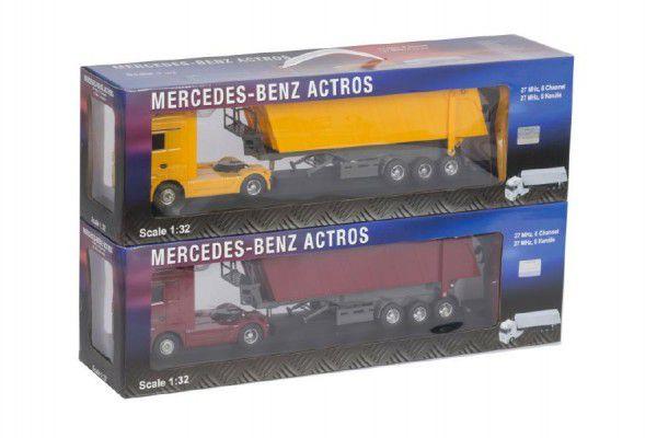 Auto nákladní R/C plast 46cm asst na baterie na dálkové ovládání v krabici