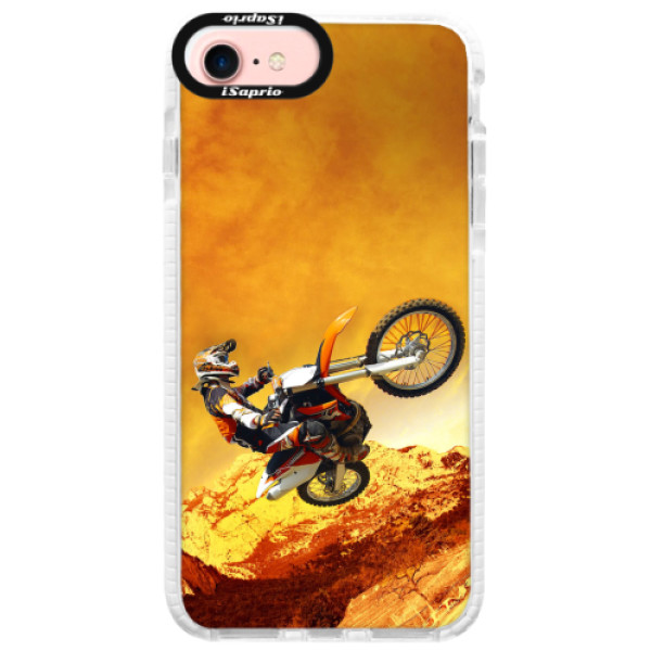 Silikonové pouzdro Bumper iSaprio - Motocross - iPhone 7