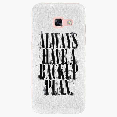 Plastový kryt iSaprio - Backup Plan - Samsung Galaxy A3 2017