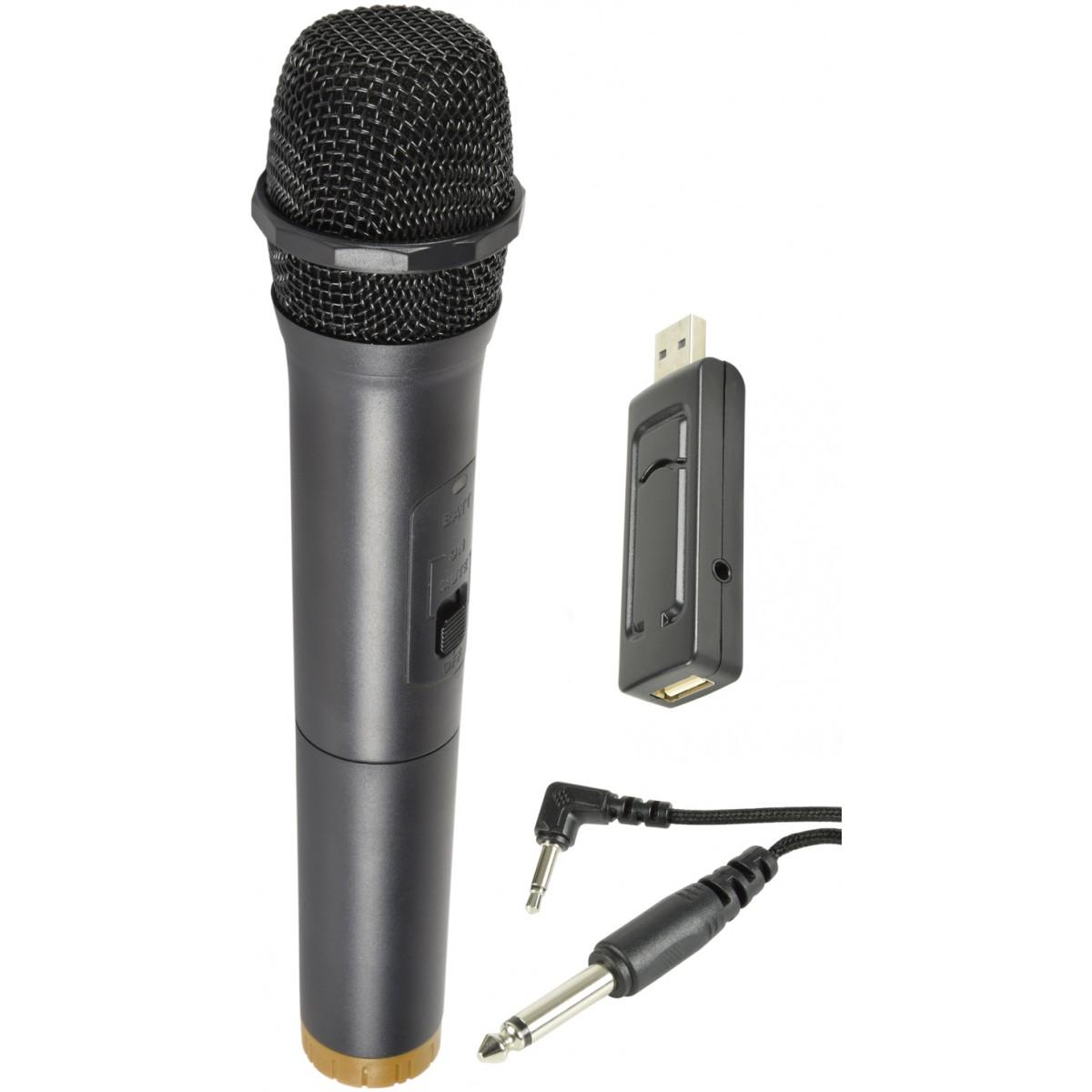 QTX U-MIC-863.2, bezdrátový mikrofonní set