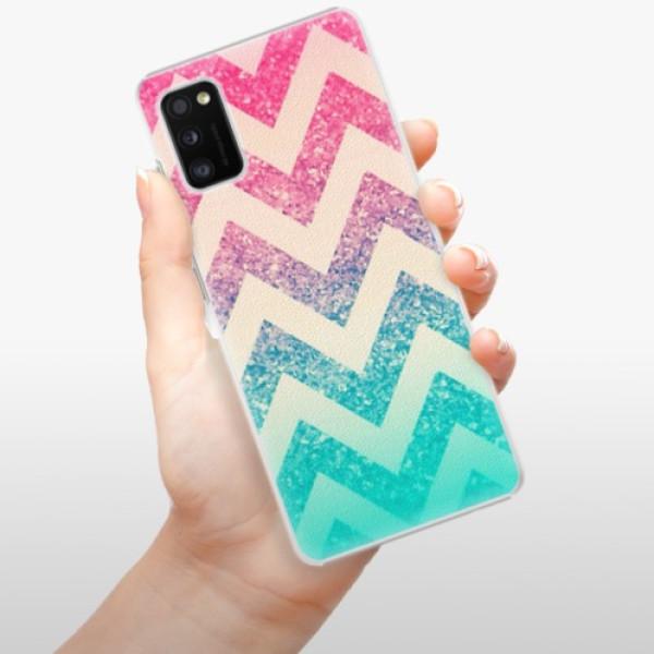 Plastové pouzdro iSaprio - Zig-Zag - Samsung Galaxy A41
