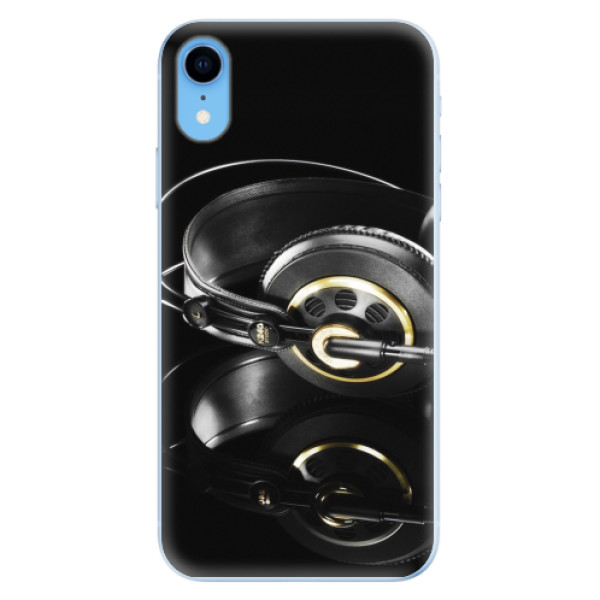 Odolné silikonové pouzdro iSaprio - Headphones 02 - iPhone XR