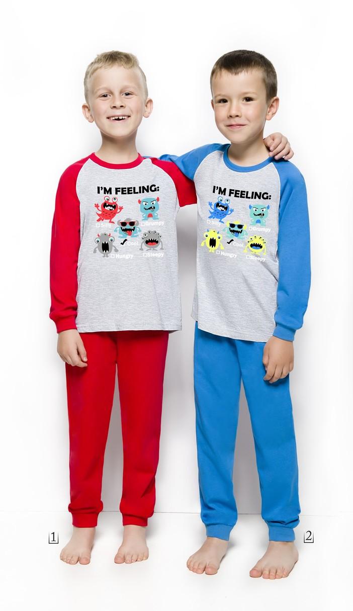 Chlapecké pyžamo Taro 765 92-116 - Červená/116