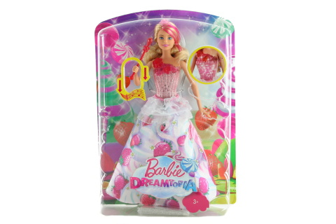 Barbie Jahůdková princezna DYX28 TV 1.9.-31.12.2017