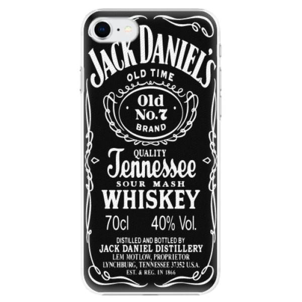 Plastové pouzdro iSaprio - Jack Daniels - iPhone SE 2020