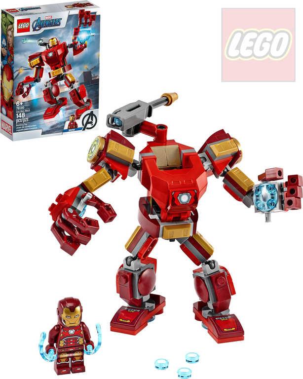 LEGO SUPER HEROES Iron Manův robot 76140 STAVEBNICE