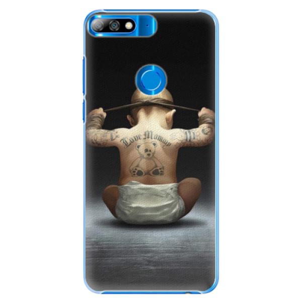 Plastové pouzdro iSaprio - Crazy Baby - Huawei Y7 Prime 2018