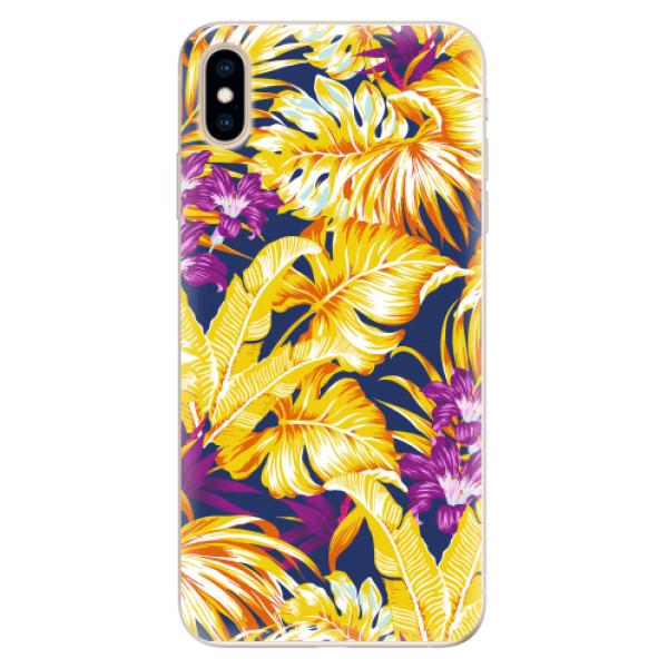 Silikonové pouzdro iSaprio - Tropical Orange 04 - iPhone XS Max