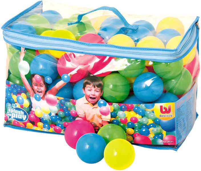 BESTWAY Míčky do hracího koutu Do vody Balls 6,3 cm Set 100 ks