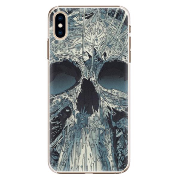 Plastové pouzdro iSaprio - Abstract Skull - iPhone XS Max
