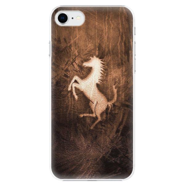 Plastové pouzdro iSaprio - Vintage Horse - iPhone SE 2020