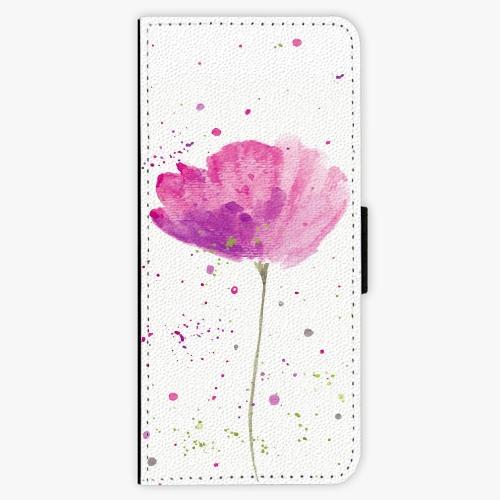Flipové pouzdro iSaprio - Poppies - Samsung Galaxy J3