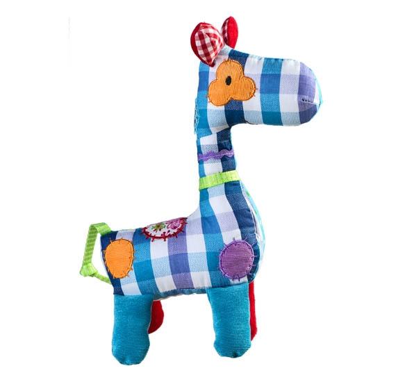 Hračka s chrastítkem Žirafka KÁRO