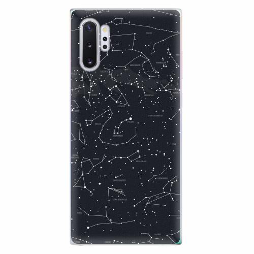 Silikonové pouzdro iSaprio - Night Sky 01 - Samsung Galaxy Note 10+