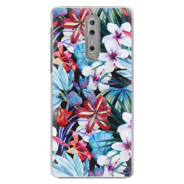 Plastové pouzdro iSaprio - Tropical Flowers 05 - Nokia 8
