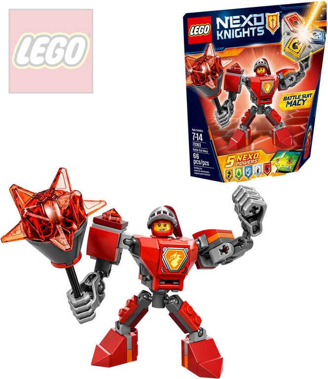 LEGO NEXO KNIGHTS Macy v bojovém obleku 70363 STAVEBNICE