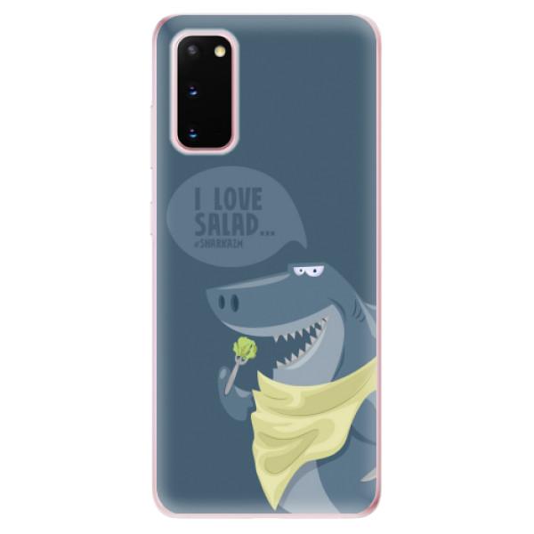 Odolné silikonové pouzdro iSaprio - Love Salad - Samsung Galaxy S20