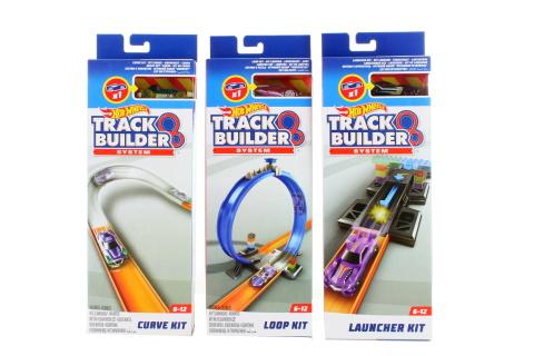 Hot Wheels Track Builder set doplňků s dráhou FPF03