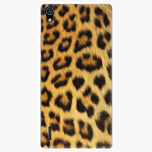 Plastový kryt iSaprio - Jaguar Skin - Huawei Ascend P7