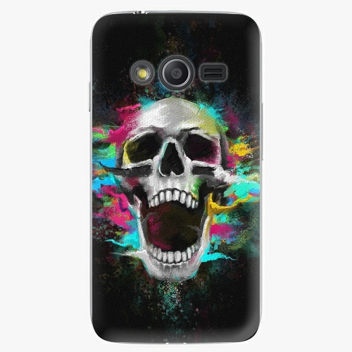 Plastový kryt iSaprio - Skull in Colors - Samsung Galaxy Trend 2 Lite