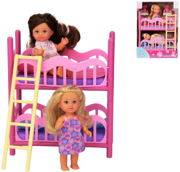 SIMBA Dvě panenky Evičky s palandou