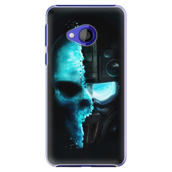 Plastové pouzdro iSaprio - Roboskull - HTC U Play