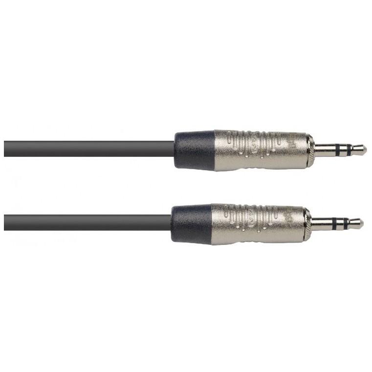 Stagg NAC2MPSR, propojovací kabel Jack 3,5 mm stereo, 2m