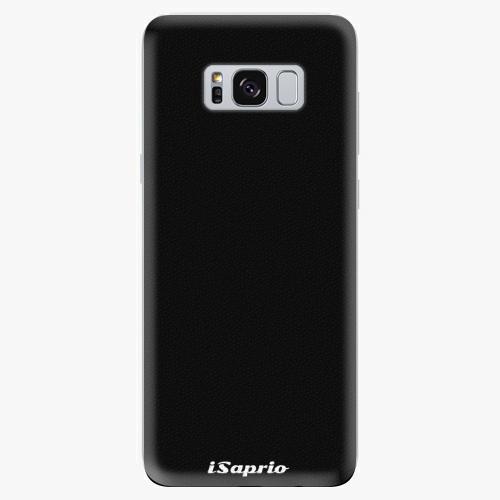 Silikonové pouzdro iSaprio - 4Pure - černý - Samsung Galaxy S8