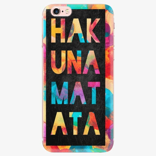 Silikonové pouzdro iSaprio - Hakuna Matata 01 - iPhone 7