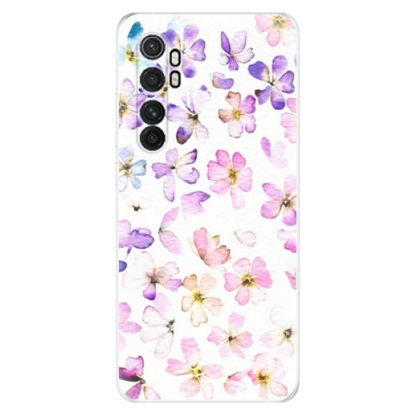 Odolné silikonové pouzdro iSaprio - Wildflowers - Xiaomi Mi Note 10 Lite