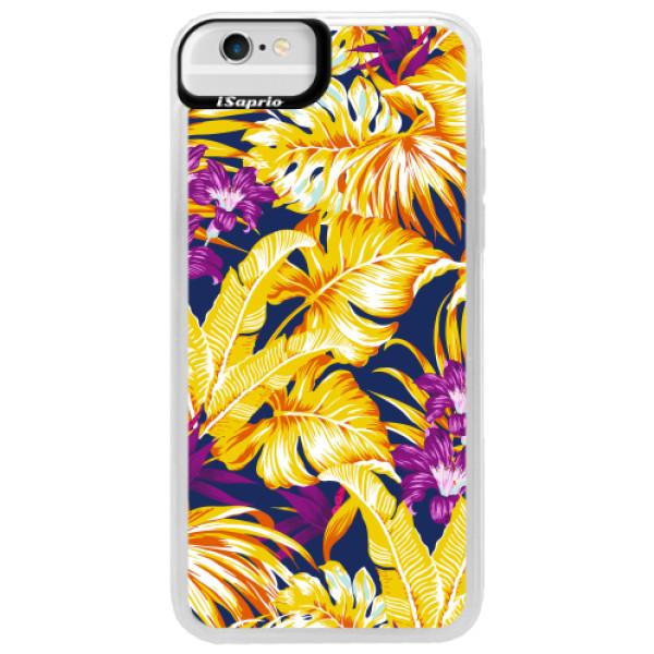 Neonové pouzdro Blue iSaprio - Tropical Orange 04 - iPhone 6/6S