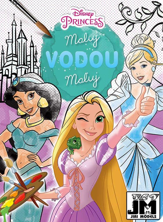 JIRI MODELS Maluj vodou Disney Princezny omalovánky