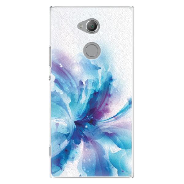 Plastové pouzdro iSaprio - Abstract Flower - Sony Xperia XA2 Ultra