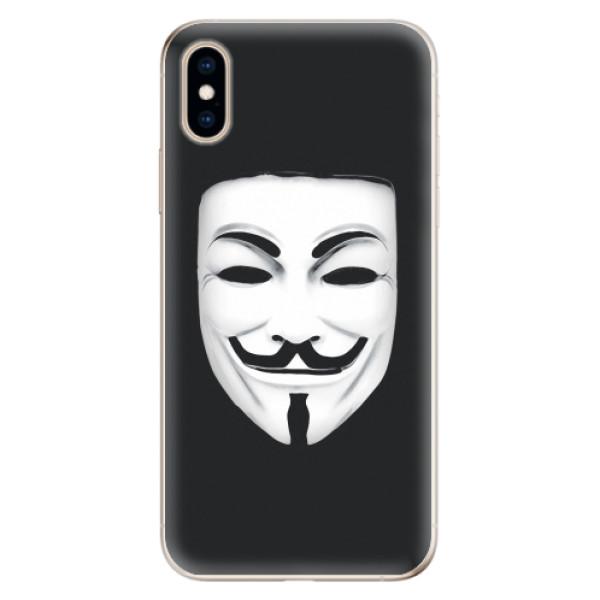 Odolné silikonové pouzdro iSaprio - Vendeta - iPhone XS