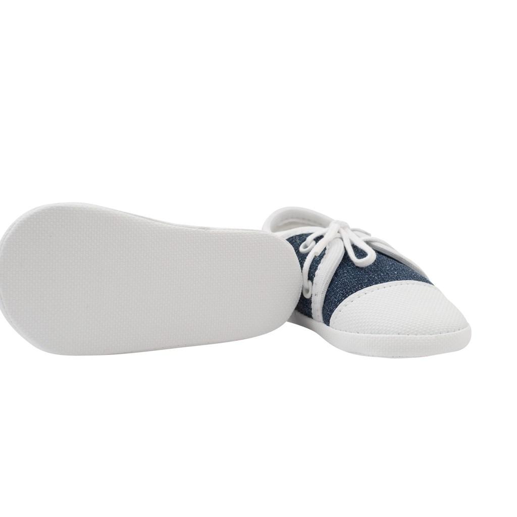 Kojenecké capáčky tenisky New Baby jeans 12-18 m - modrá/12-18 m