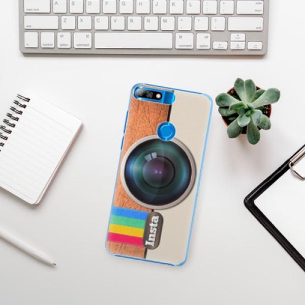Plastové pouzdro iSaprio - Insta - Huawei Y7 Prime 2018