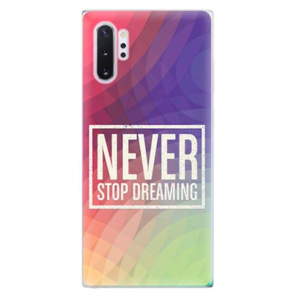 Odolné silikonové pouzdro iSaprio - Dreaming - Samsung Galaxy Note 10+