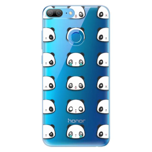 Odolné silikonové pouzdro iSaprio - Panda pattern 01 - Huawei Honor 9 Lite